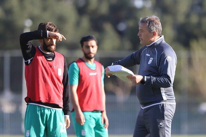 درخواست سرمربی تیم ملی فوتبال ایران از شاگردانش