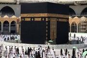 ورود داعشی مسلح به حریم کعبه / فیلم