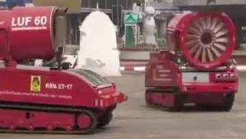 این رباتها با آلودگی هوا مقابله میکنند / فیلم