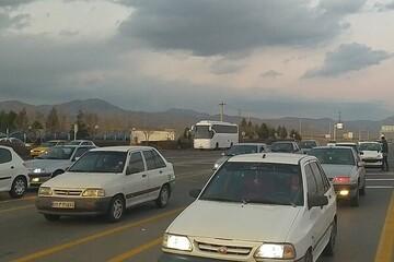 ترافیک پرحجم و روان در جادههای استان گیلان
