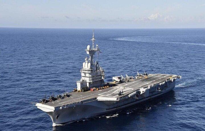 فرانسه فرمانده نیروی دریایی ائتلاف ضد داعش شد