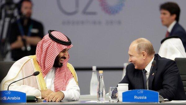 گفتوگوی تلفنی ولادیمیر پوتین با ولیعهد عربستان