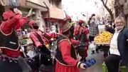اجرای جذاب سیاهبازی در تعطیلات نوروزی پایتخت / فیلم