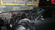 تصادف مرگبار دنا و کامیون در کرمانشاه