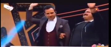 رقص کردی مجری تلویزیون در برنامه نوروزی / فیلم