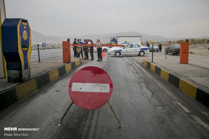 آخرین وضعیت ترافیکی جادهها | ممنوعیت تردد در جاده چالوس و انسداد محور قزوین - همدان