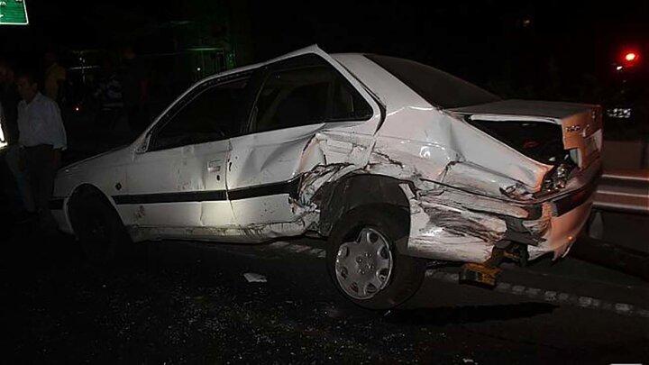 تصادف شدید دو خودرو در محور فیروزآباد یاسوج | انتقال ۱۷مصدوم به بیمارستان