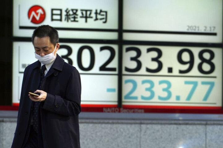 رشد سهام ژاپن و چین در روز تعطیلی اغلب بازارهای آسیا اقیانوسیه