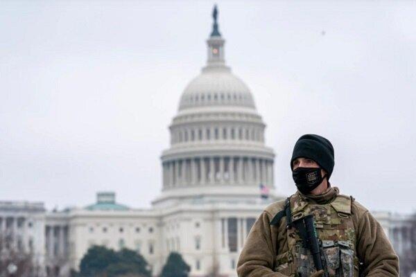 زخمی شدن ۲ پلیس در پی حمله به کنگره آمریکا