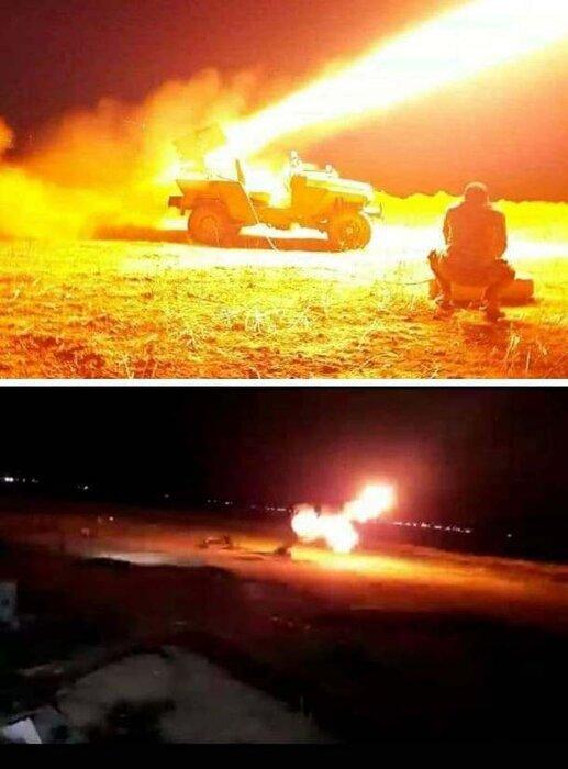 درگیری شدید الحشد الشعبی با داعش در نزدیکی مرز ایران و عراق