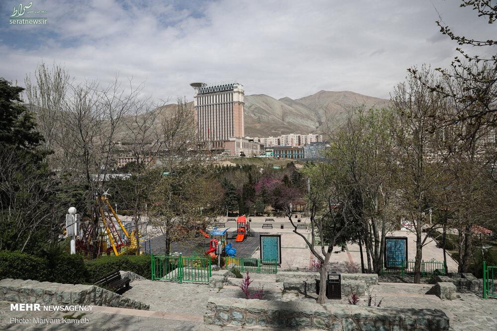 پارکهای پایتخت در روز طبیعت / تصاویر