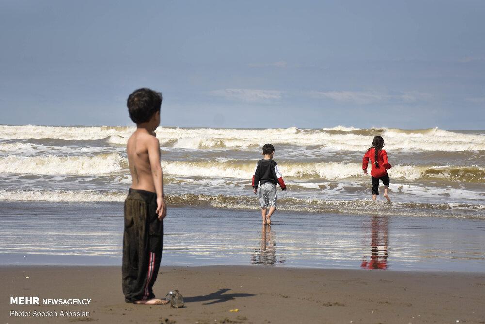سواحل دریای خزر کرونا ندارد!