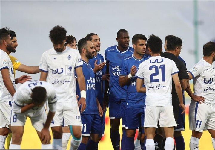 جدول لیگ برتر پس از تساوی استقلال مقابل پیکان