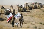 درگیری نیروهای حشد شعبی با داعش در صلاحالدین