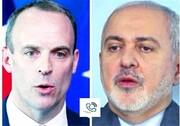 گفت و گوی تلفنی ظریف با وزیر خارجه انگلیس