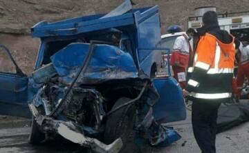 بیاحتیاطی راننده وانت نیسان ۵ کشته برجای گذاشت