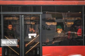 مسیر اتوبوسهای تندرو در سه ایستگاه خط هفت تهران بسته شد