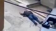 لحظه شلیک و مرگ داماد کرمانشاهی با اسلحه / فیلم