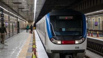 فاصلهگذاری جدید در مترو !/ عکس