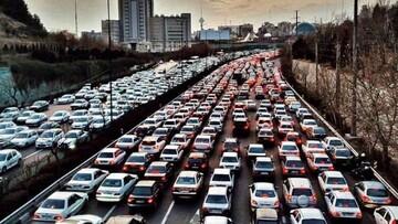 نحوه اجرای طرح ترافیک در وضعیت قرمز تهران