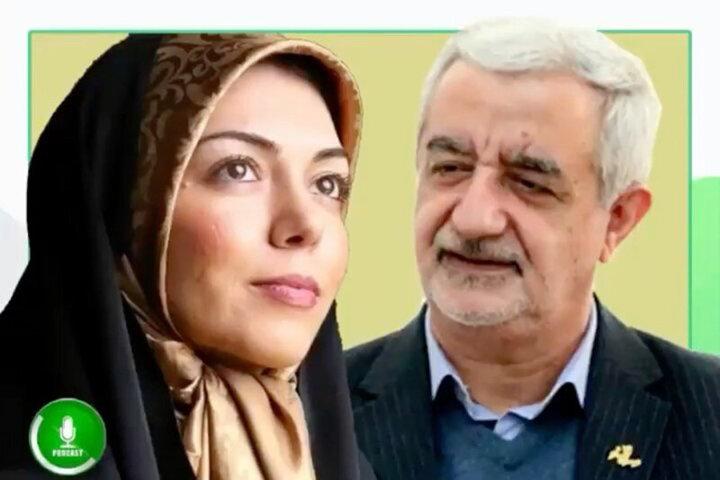 نخستین اظهار نظر پدر همسر آزاده نامداری درباره علت درگذشت عروسش/ فیلم