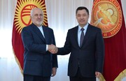 توییت جدید ظریف درباره سفرش به قرقیزستان
