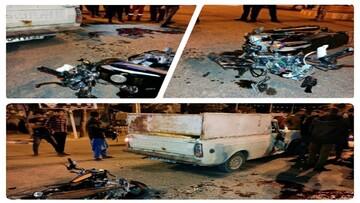 تصادف هولناک در خراسان جنوبی/ دو نوجوان ۱۵ ساله جان باختند + عکس