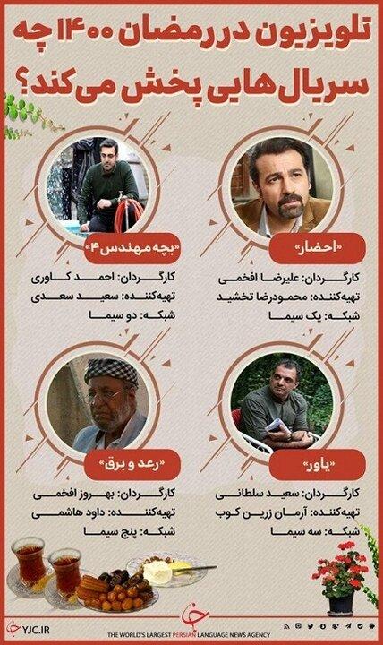 معرفی سریالهای تلویزیون در ماه رمضان ۱۴۰۰