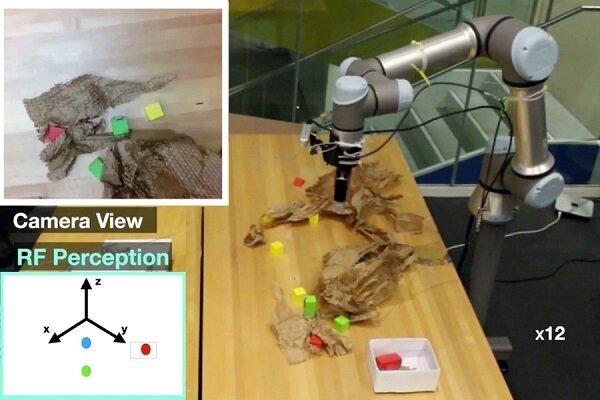 ساخت رباتی که اشیای پنهان را میبیند!/ عکس