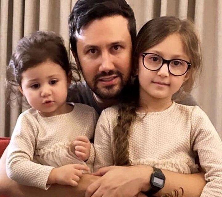 عکس متفاوت شاهرخ استخری در کنار خواهر و پدرش