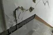 تصاویری تلخ از خسارات ناشی از زلزله ۵.۳ ریشتری مریوان / فیلم