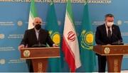 از نقش مثبت قزاقستان در موضوع هستهای ایران و روند آستانه بسیار خوشحالیم
