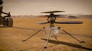 هلیکوپتر مریخی را ببینید/ عکس