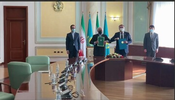 ایران و قزاقستان برنامه همکاری امضا کردند