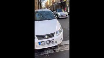 حضور ارزانترین خودروی ایرانی در آلمان! / فیلم