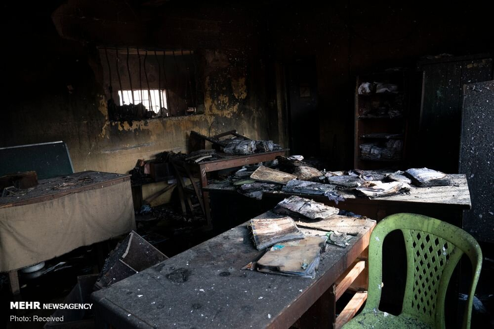 فرار بیش از ۱۸۰۰ زندانی پس از حمله افراد مسلح در نیجریه / تصاویر