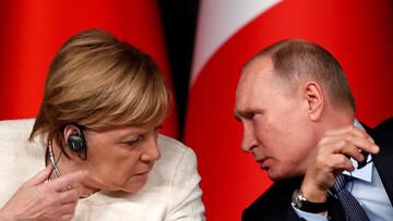 گفتوگوی پوتین با مرکل درباره آخرین تحولات اوکراین