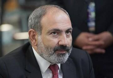 اقدام عجیب نخست وزیر ارمنستان در دیدار با پوتین/فیلم