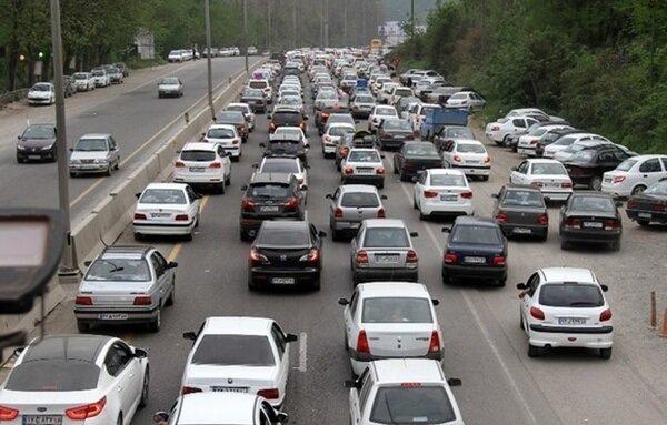 کاهش تردد در محورهای برون شهری | محورهای دارای بیشترینتردد طی ۲۴ ساعت گذشته