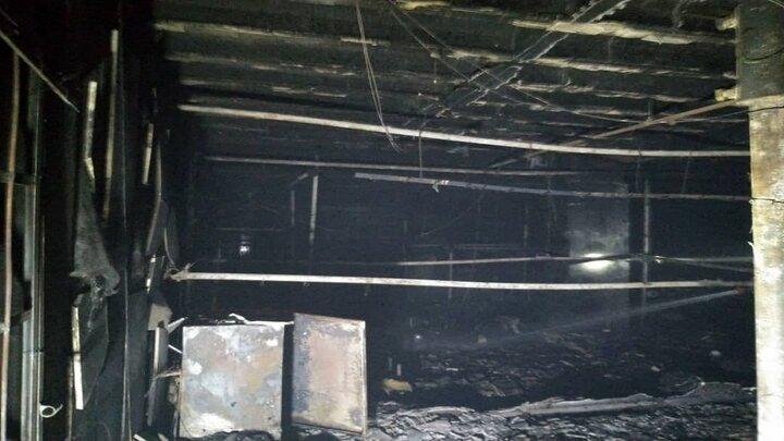 حادثه آتش سوزی خیابان آجودانیه تهران قربانی گرفت