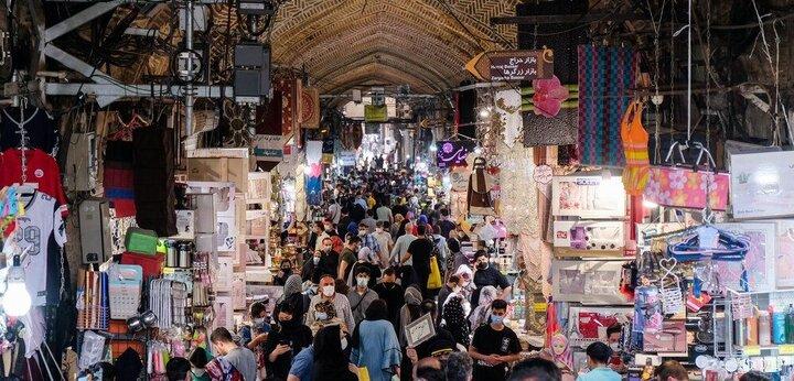 کرونا برای سومین هفته متوالی بازار بزرگ تهران را تعطیل کرد