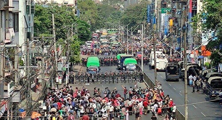 تحریم یک شرکت حکومتی میانمار از سوی آمریکا