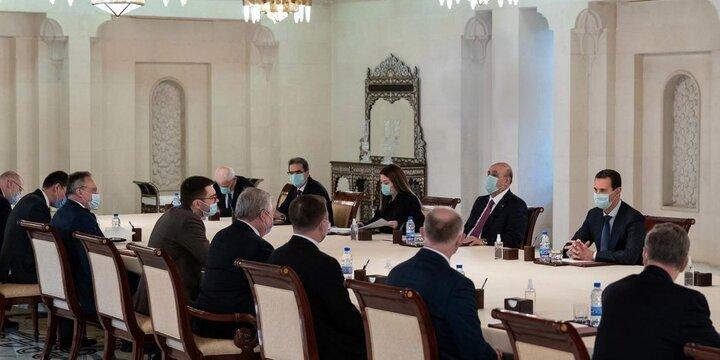 فرستاده پوتین با بشار اسد دیدار کرد