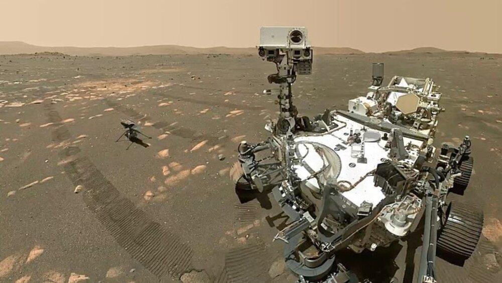 مریخ ناسا مرخ نورد