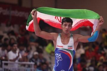 یک کشتیگیر ایرانی المپیکی شد