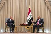 دیدار برهم صالح با دبیر کل اتحادیه عرب در عراق