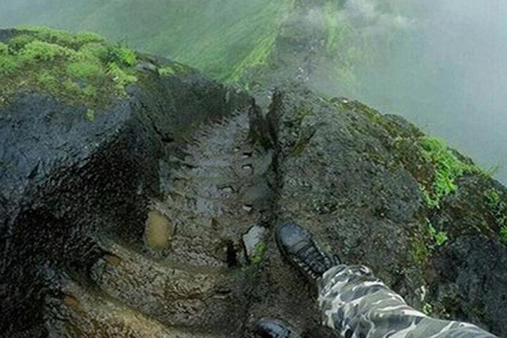 تصاویری عجیب از یکی از خطرناکترین مکانهای طبیعی دنیا /فیلم