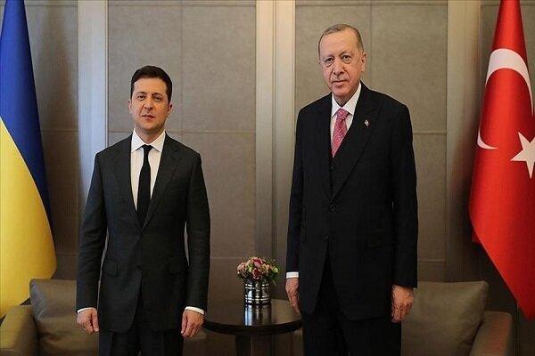 اردوغان با رییس جمهور اوکراین دیدار کرد