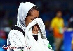 حذف عجیب کیمیا علیزاده از رقابتهای قهرمانی اروپا