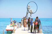 ورورد ۱۰۰ هزار گردشگر به جزیره کیش در نوروز ۱۴۰۰